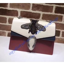 Gucci Dionysus Embroidered Bee Appliques Large Shoulder Bag