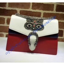 Gucci Dionysus Embroidered Raccoon Appliques Large Shoulder Bag