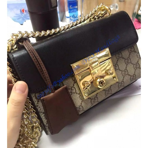 Gucci Small Padlock Gg Supreme Shoulder Bag Gu409487ca