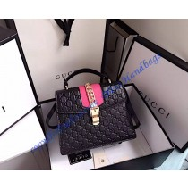 Gucci Sylvie Signature bag GU431665L-black