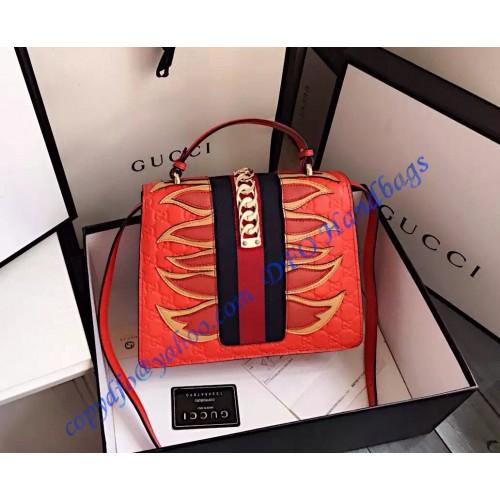 4cf5b9d8ce3 Gucci Sylvie Signature Bag 431665
