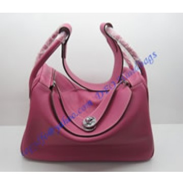 Hermes Lindy H1059 rose red