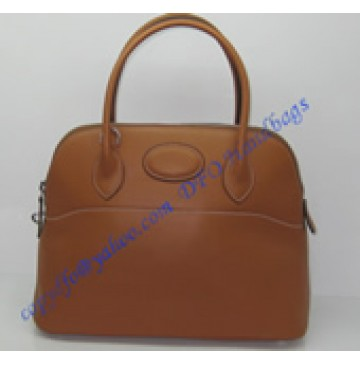 Hermes 31cm Bolide H31063 light brown