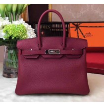 35cm in Bordeaux Togo leather Palladium Hardware