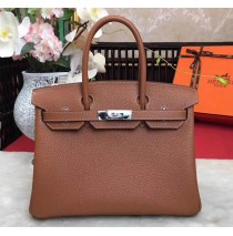 35cm in Terre Togo leather Palladium Hardware