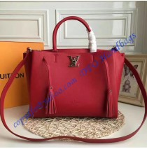 Louis Vuitton Lockmeto Red