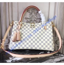 Louis Vuitton Damier Azur Lymington N40022