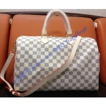 Louis Vuitton Damier Azur Speedy Bandouliere 35 N41002