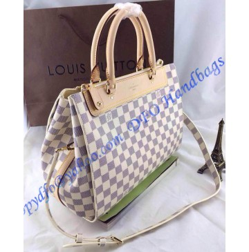 Louis Vuitton Damier Azur Greenwich N41337 White