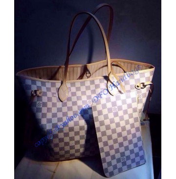 Louis Vuitton Damier Azur Neo Neverfull MM N41361