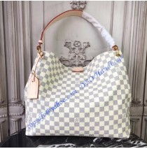 Louis Vuitton Damier Azur Graceful MM N42233
