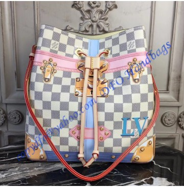 Louis Vuitton Trompe L'oeil Screen Damier Azur NeoNoe N41066