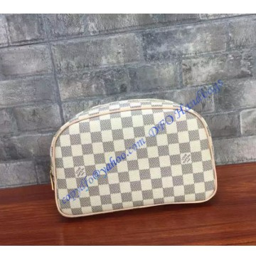 Louis Vuitton Damier Azur Toiletry Kit N41420