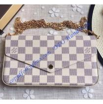 Louis Vuitton Damier Azur Pochette Felicie N63106