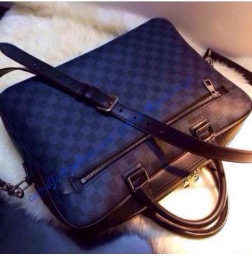 Louis Vuitton Damier Cobalt Canvas Porte Document Business N41347