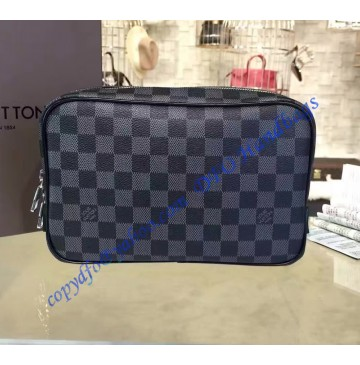 Louis Vuitton Damier Graphite Toilet Pouch GM N47521