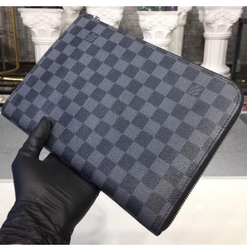 Louis Vuitton Damier Graphite Pochette Jour PM N60113