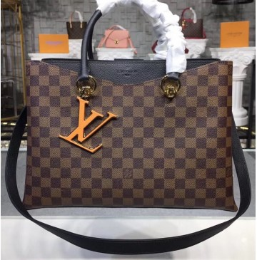 Louis Vuitton Damier Ebene LV Riverside Noir N40050