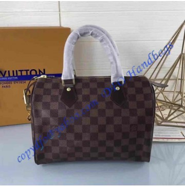 Louis Vuitton Damier Ebene Speedy 25 N41528