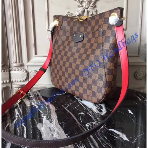 54dfb7448a1 Louis Vuitton Damier Ebene South Bank Besace N42230