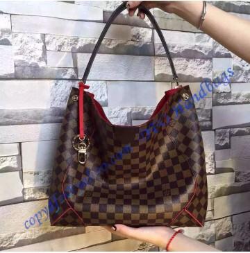 Louis Vuitton Damier Ebene Caissa Hobo N41555