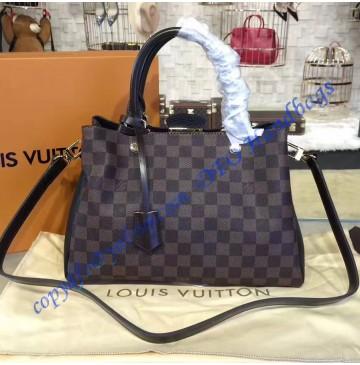 Louis Vuitton Damier Ebene Brittany Black