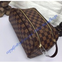 Louis Vuitton Damier Ebene King Size Toiletry Bag N47527