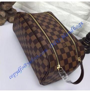 Louis Vuitton Damier Ebene King Size Toiletry Bag N47527