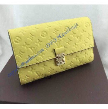 Louis Vuitton Monogram Empreinte Fascinante 3 in 1 Bag M41034 lemon yellow