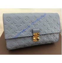 Louis Vuitton Monogram Empreinte Fascinante 3 in 1 Bag M41034 light blue