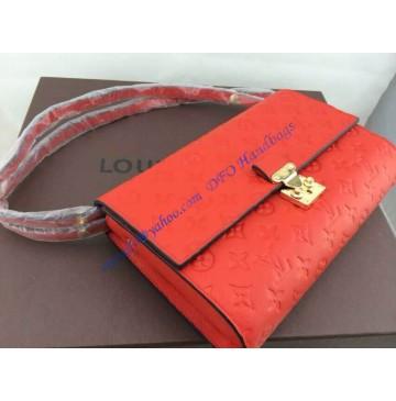 Louis Vuitton Monogram Empreinte Fascinante 3 in 1 Bag M41034 orange red