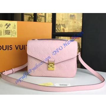 Louis Vuitton Monogram Empreinte Pochette Metis Pink