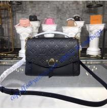 Louis Vuitton Monogram Empreinte Blanche BB Noir M43624