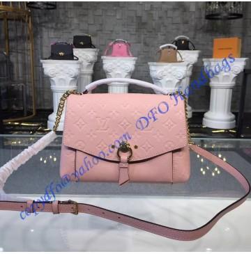 Louis Vuitton Monogram Empreinte Blanche BB Rose Poudre M43674