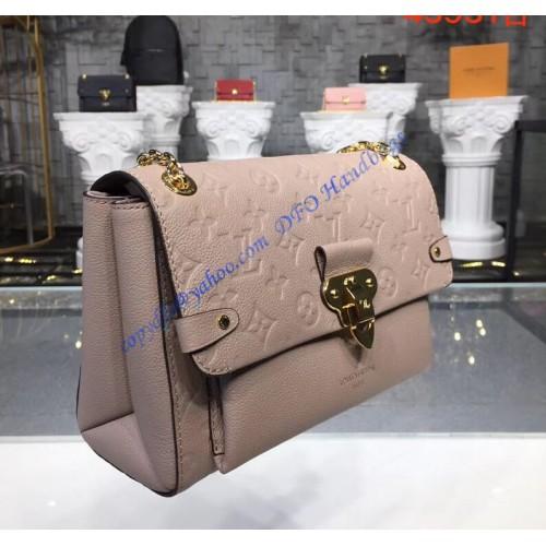 749856cdae0f Louis Vuitton Monogram Empreinte Vavin PM Vison Beige M43931