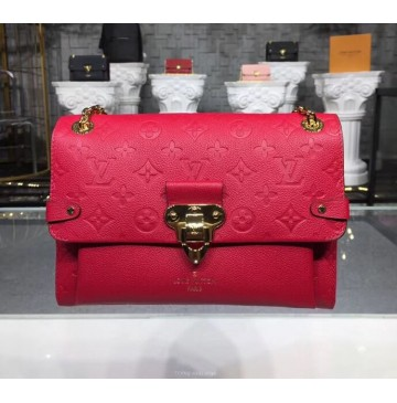 Louis Vuitton Monogram Empreinte Vavin PM Scarlet red M43936