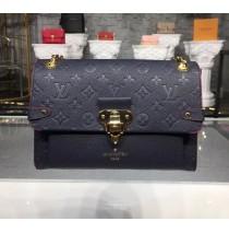 Louis Vuitton Monogram Empreinte Vavin PM Marine Rouge M52271