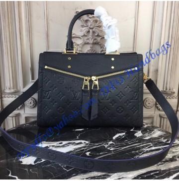 Louis Vuitton Monogram Empreinte Sully PM Noir M54196