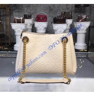 Louis Vuitton Monogram Empreinte Leather Surene BB Cream M43877