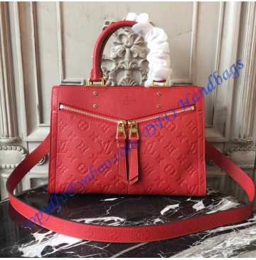 Louis Vuitton Monogram Empreinte Sully PM Cherry M54193