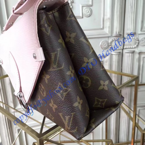 louis vuitton saint michel with pink epi leather m44033