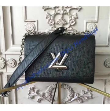 Louis Vuitton Epi Leather Twist MM M50282 Black