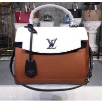 Louis Vuitton Lockme Ever M52360 Caramel Creme Noire