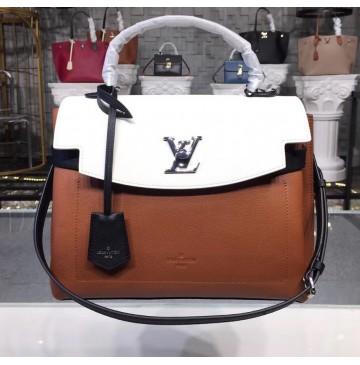 Louis Vuitton Lockme Ever M52360 Caramel Creme Noire