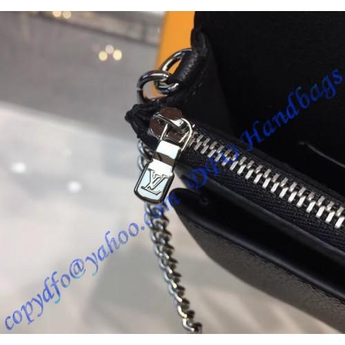 Louis Vuitton Pochette Mylockme Chain Black M63471