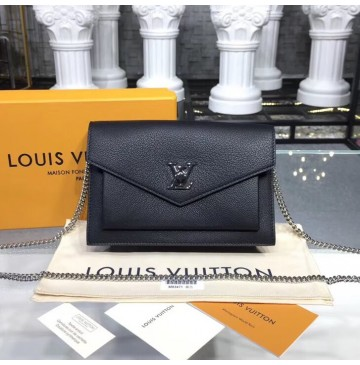 Louis Vuitton Pochette MyLockMe Chain Black M63471