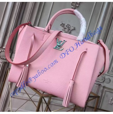 Louis Vuitton Lockmeto Pink M54572