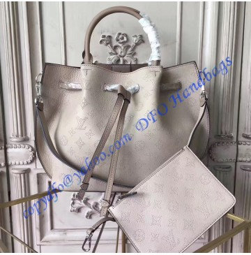Louis Vuitton Mahina Girolata Gray White