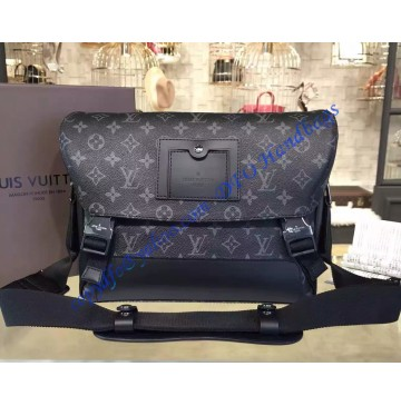 Louis Vuitton Monogram Eclipse Messenger PM Voyager M40511