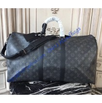 Monogram Eclipse Canvas Keepall 55 Bandouliere M40605